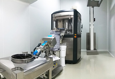 Tabletpress Production Line