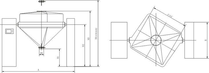 HGD Series Blender
